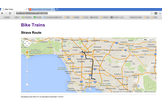 Bike Trains Web Service