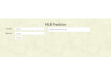 MLB Predictor