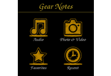 Gear Notes