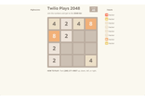 Twilio Plays 2048