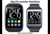 BigLCD Launcher Watchface