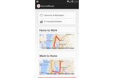 SecondRoute Traffic-Rerouting for Android, Android Wear, and Windows Phone