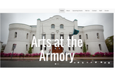 Arts at the Armory redesgin