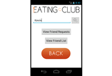 The Eating Club App