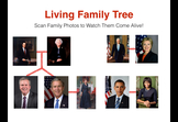 A Living Tree : An Augmented Reality Family Tree by ScanED.NET