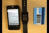 Cats: Barcode displaying app for Pebble Watch